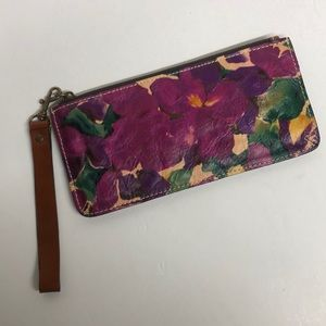 Patricia Nash Blooming Romance St Croce Clutch